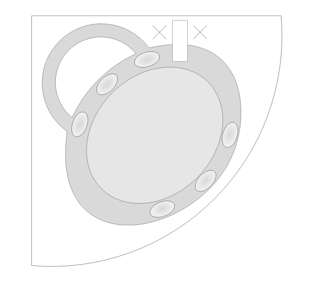 Countertop Sink, countertop sink, oval-shaped sink,