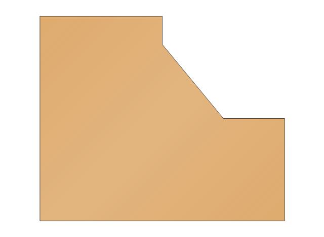 L-shaped Countertop, L-shaped countertop, L-shaped desktop,