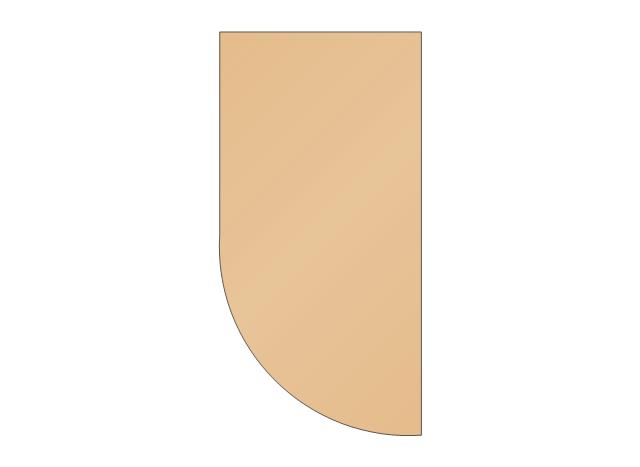 Wall end-shelf, wall end-shelf, wall cabinet end-shelf,