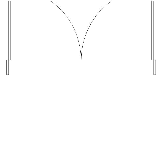 Double door frame double door  sc 1 st  Conceptdraw.com & Air handler- HVAC plan   Design elements - Windows and doors ...