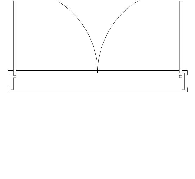 Double door, frame, stop, threshold, double door,