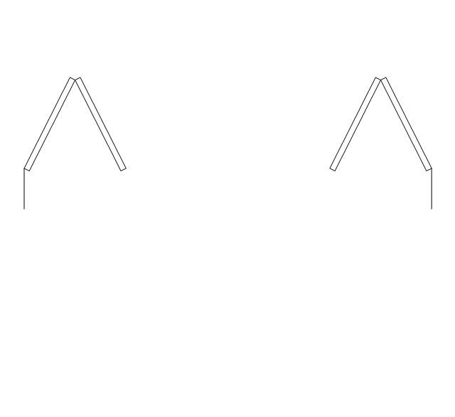 Double bi-fold door, double bi-fold door,