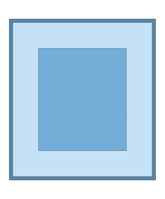 Rectangular Blue Rug, rectangular, blue, rug,