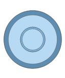 Round Blue Rug, round, blue, rug,