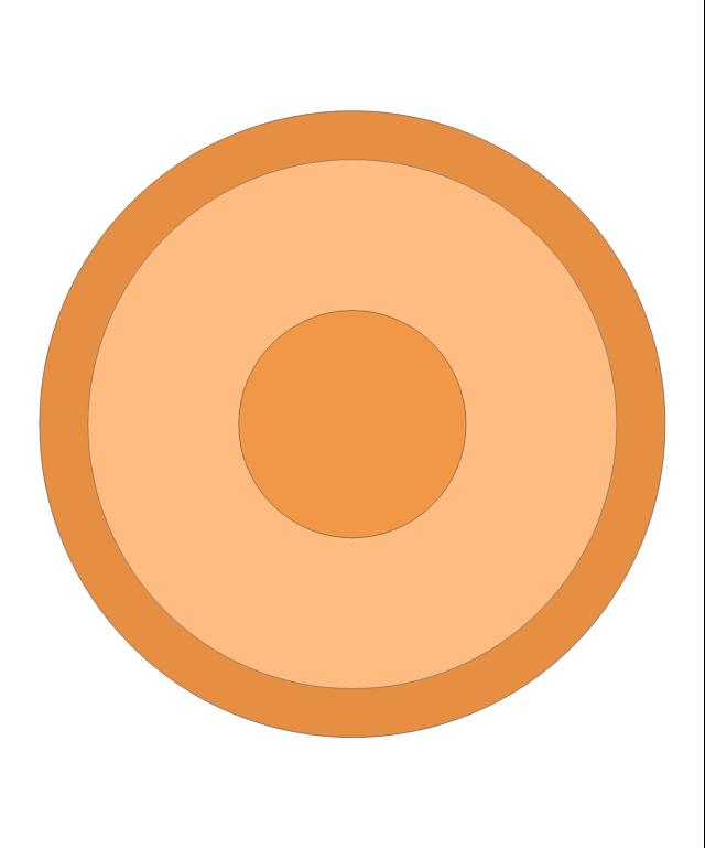Round Orange Rug, round, orange, rug,