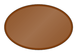 Oval Table 2, oval table, table,