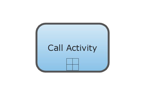 Call Activity - Collapsed, collapsed call activity,