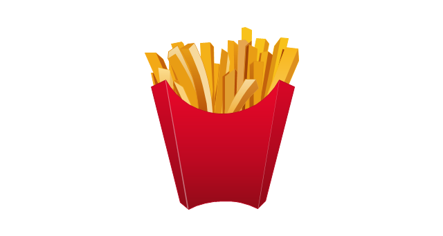 French fries, french fries,