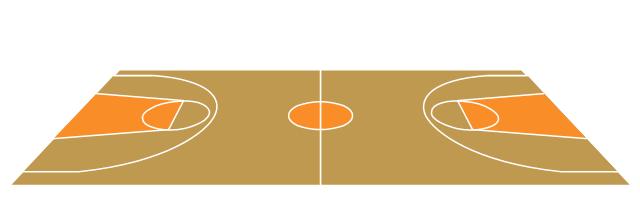 Basketball court template, basketball court, basketball court diagram ...