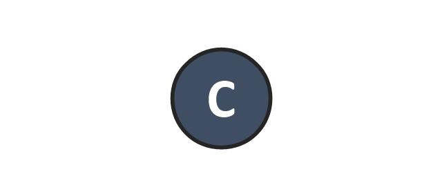 Center, center position, C,