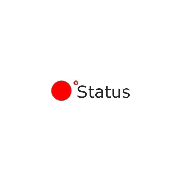2-State Alert, Red, 2-state alert,