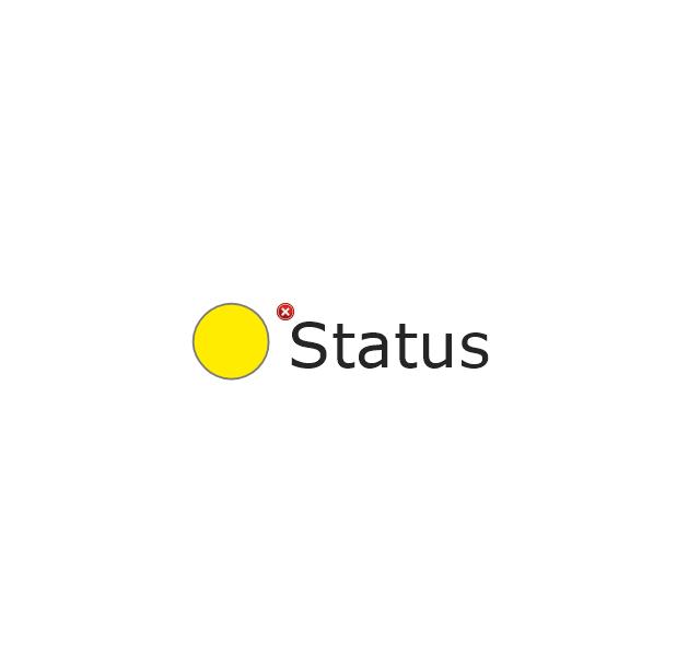 2-State Alert, Yellow, 2-state alert,