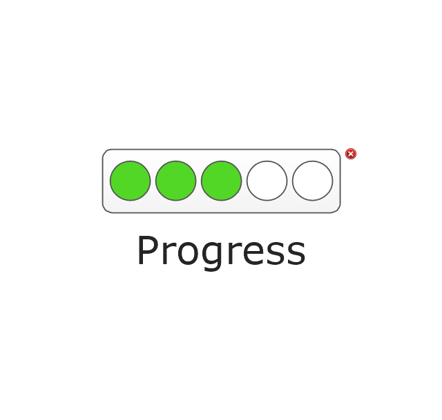Progress Lights, Green, progress indicator,