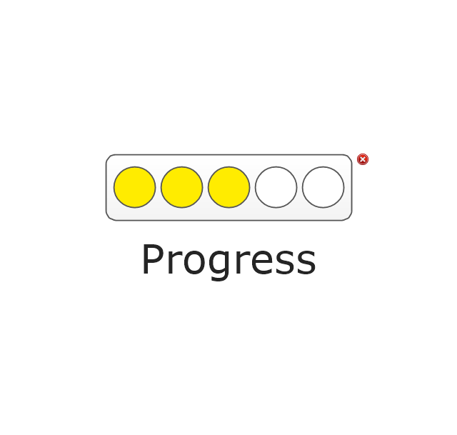 Progress Lights, Yellow, progress indicator,