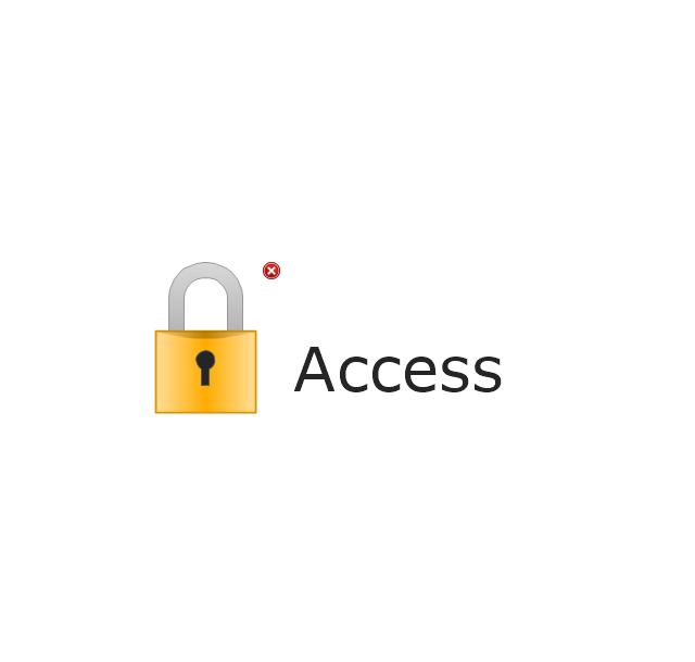 Access, access indicator, alert indicator,