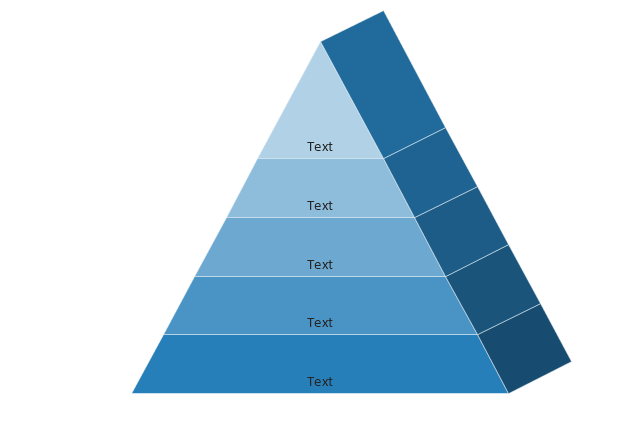 Pyramid 5 Isometric, pyramid, triangle,