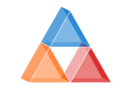 Triangle chart, isometric, triangle chart, triangle, pyramid, triangle diagram,