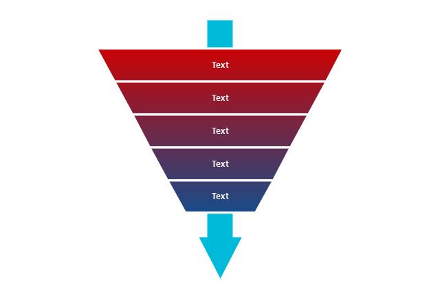 Funnel diagram, funnel diagram,