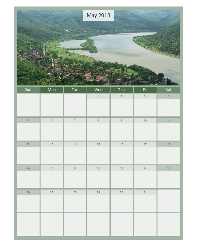 Large Calendar (Picture 2), month calendar,