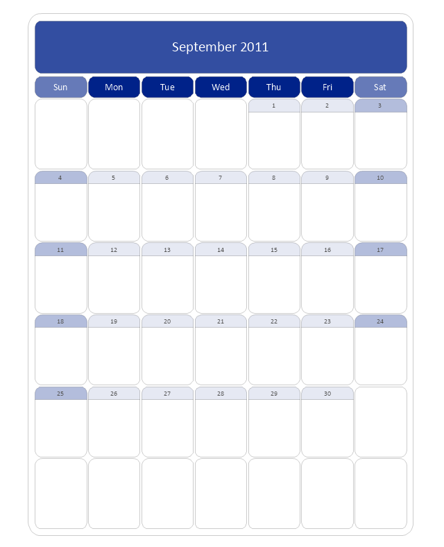 Large Calendar (Rounded), month calendar,