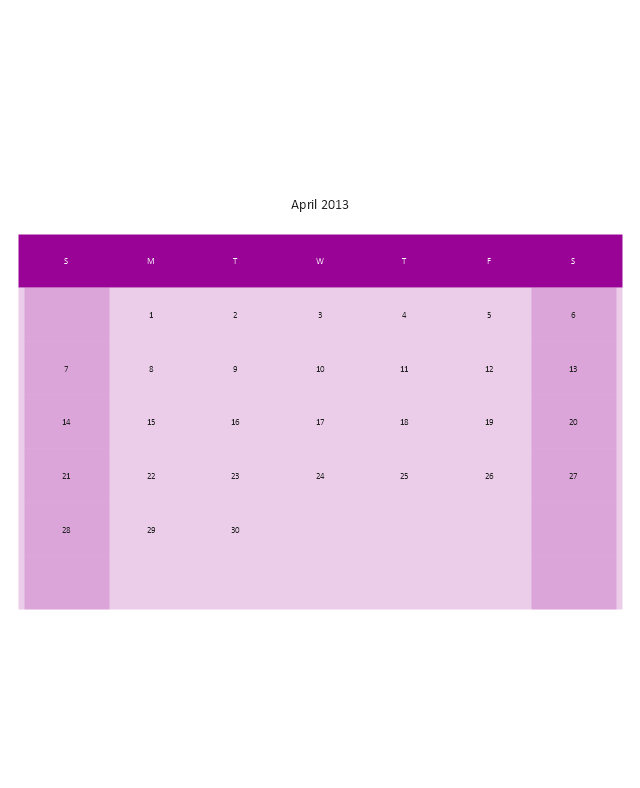 Small Calendar (White), month calendar,