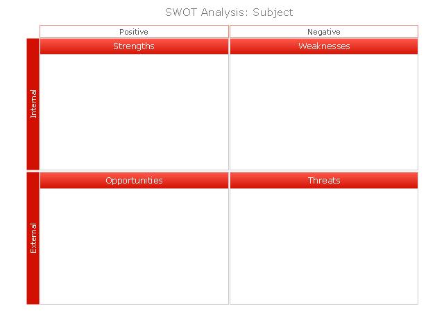 SWOT Matrix, red, SWOT matrix, SWOT,