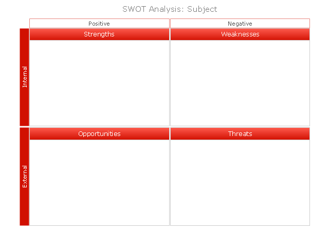 SWOT Matrix, red, SWOT matrix, SWOT,