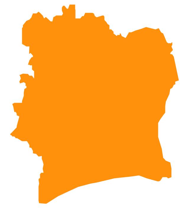 Cote d'Ivoire , Cote d'Ivoire, Ivory Coast, Cote d'Ivoire map, Ivory Coast map,
