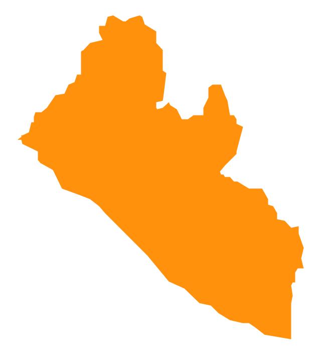 Liberia, Liberia, Liberia map,