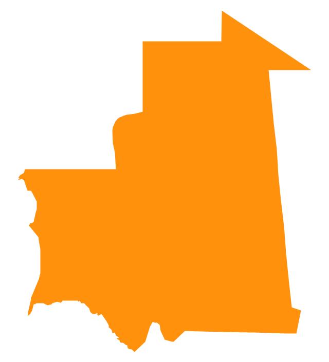 Mauritania, Mauritania, Mauritania map,