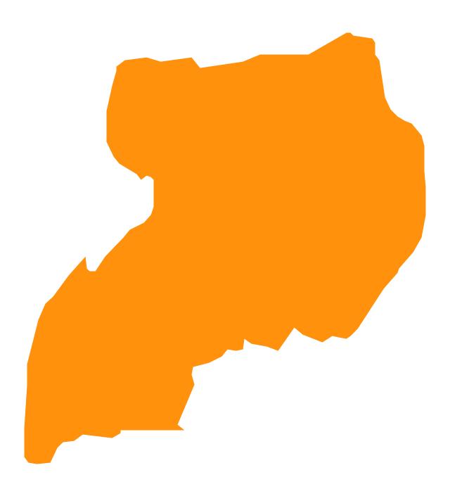 Uganda, Uganda, Uganda map,