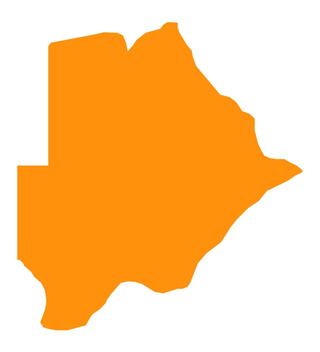 Botswana, Botswana, Botswana map,