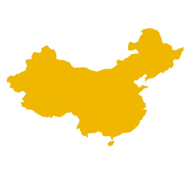 China, China, China map,