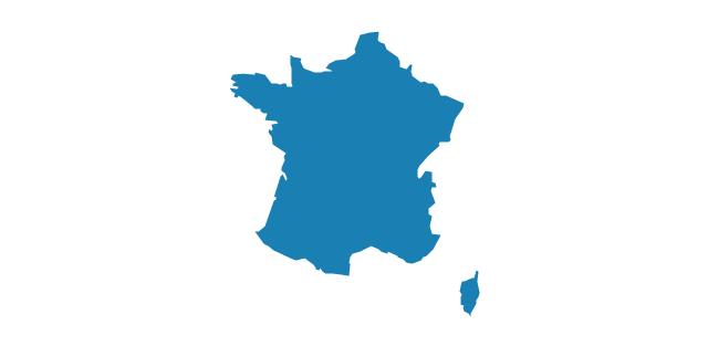 France, France, France map,