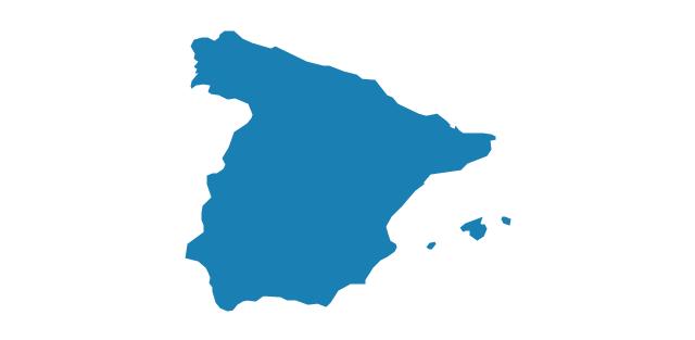 Spain, Spain, Spain map,