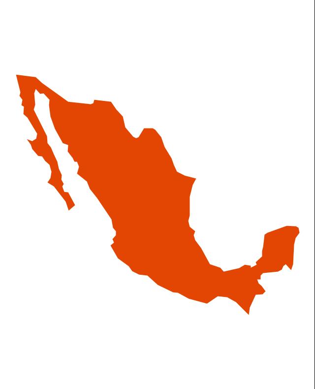 Mexico, Mexico, Mexico map,