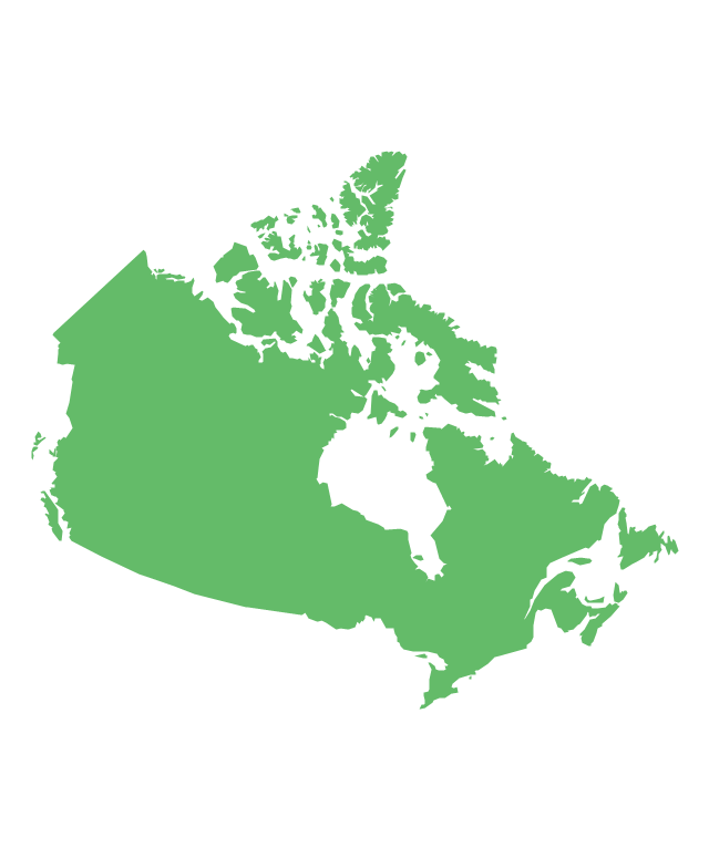 North America - Vector stencils library