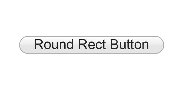 Round Rect Button, button,