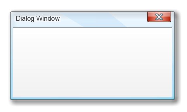 Dialog Window, dialog window,