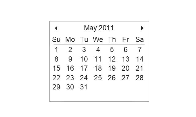 Calendar, calendar,
