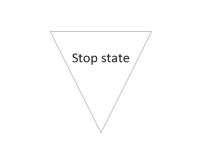 Stop state2, stop state,