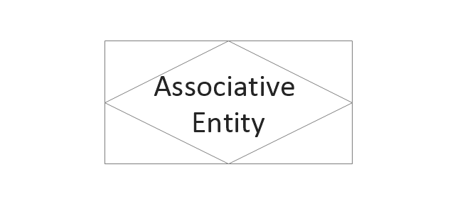 Erd chens notation vector stencils library erd chens associative entity associative entity ccuart Choice Image