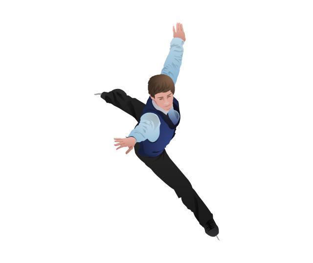 Figure skater, figure skating, figure skater, free skating,