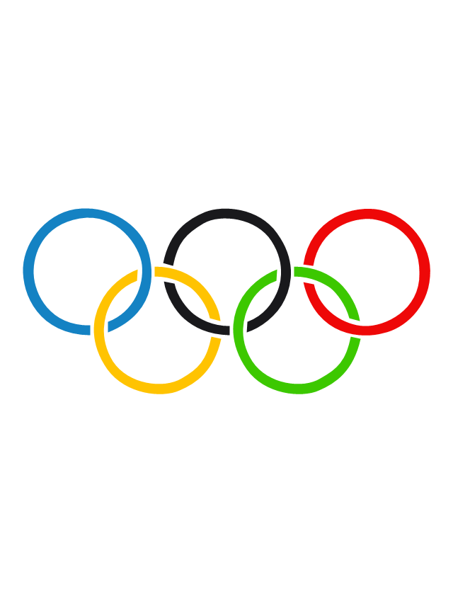 Olympic rings, Olympic rings,