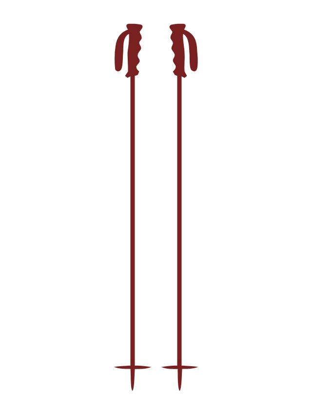Ski poles, ski poles,
