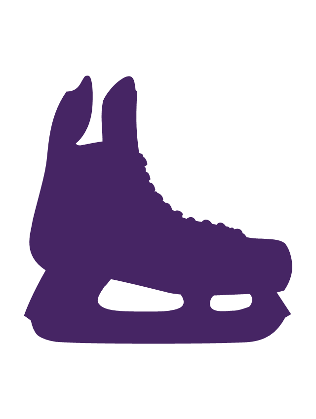 Ice hockey skates, ice hockey skates silhouette,