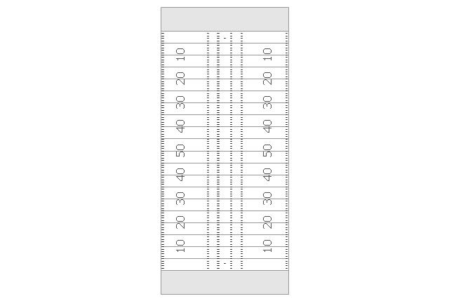 Simple vertical football field, simple vertical football field,