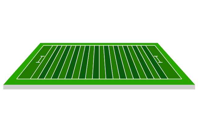 Football field, sideline view, sideline view football field,