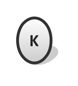 Kicker (K), kicker,