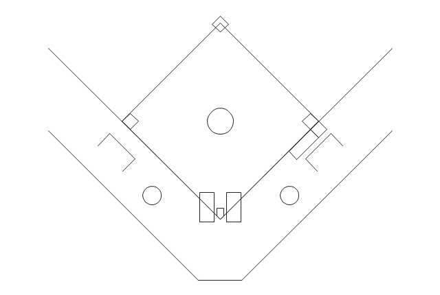 Simple Baseball Field, simple baseball field, softball field,